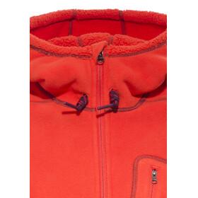 adidas ED Teddy Fleece Hoody Women bold orange/solid grey f11
